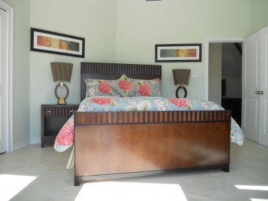 Upstairs Master Bedroom with walk out balcony