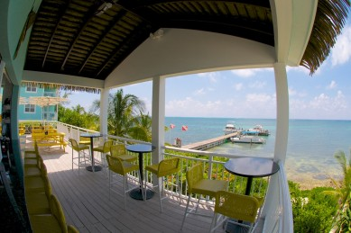 Eagle Rays Restaurant at Compass Point Resort in East End