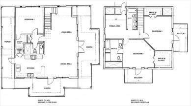 Floor Plan All Homes